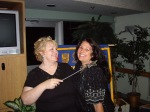 2007 Lynn Thomson & Me at her Kiwanis Installation Dinner